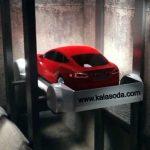 تخت و تاز خودروی جدید تسلا در تونل های لس آنجلس