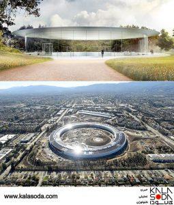 اپل پارک به یادبود استیو جابز ساخته می شود|کالاسودا