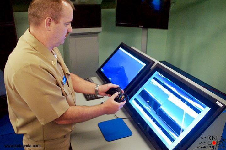 بازی با کنسول های xbox 360 در زیر دریایی های آمریکایی|کالاسودا