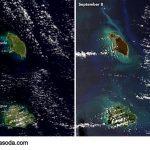 طوفان Irmaنقشه های هوایی را مخدوش کرد