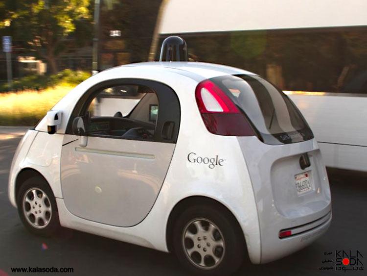 گوگل به غافله خودروهای خودران پیوست|کالاسودا