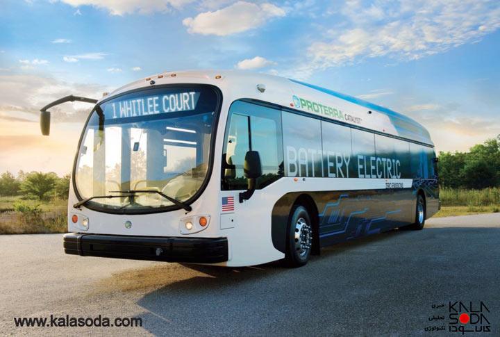 اتوبوس الکتریکی بزرگ Proterraرکورد زد|کالاسودا