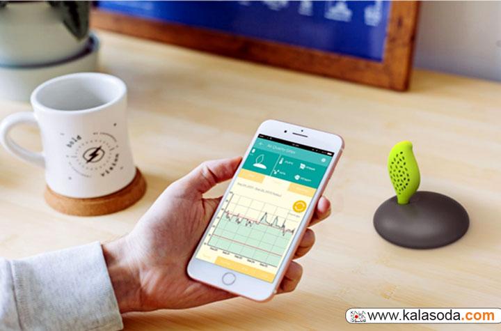 سیستم تصفیه هوای هوشمند AirQuality|کالاسودا