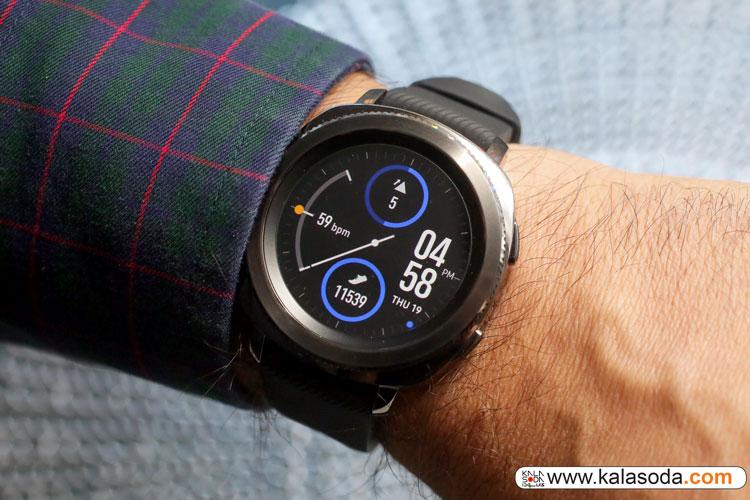 نبض زمان را با Samsung Gear Sport بگیرید|کالاسودا