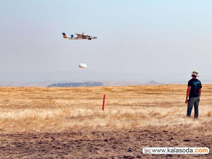 پرواز هواپیماهای بدون سرنشین wing بر فراز خانه های استرالیا|کالاسودا