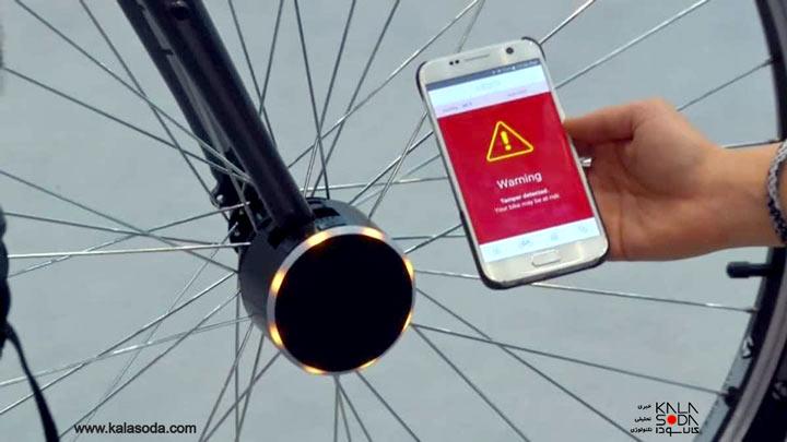 با این قفل آلارم دار، ایمنی دوچرخه تان تضمین میشود|کالاسودا