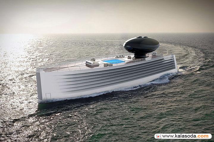 با لوکس ترین قایق بادبانی/الکتریکی سال آشنا شوید|کالاسودا