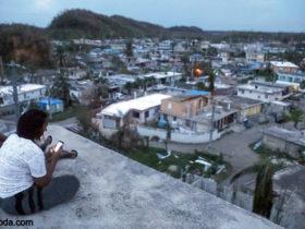 بالون های اینترنت در آسمان پورتوریکو کالاسودا
