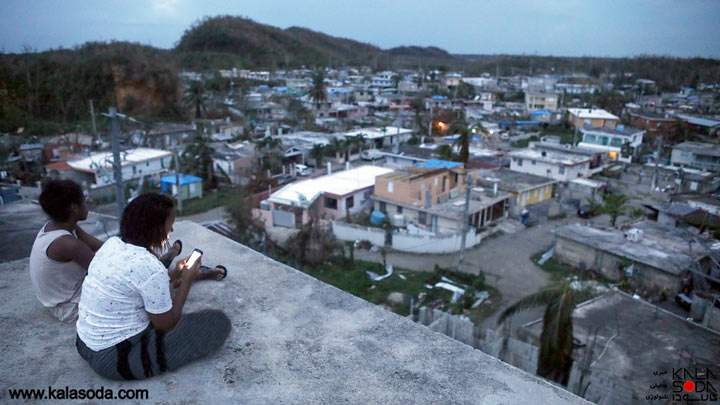 بالون های اینترنت در آسمان پورتوریکو|کالاسودا