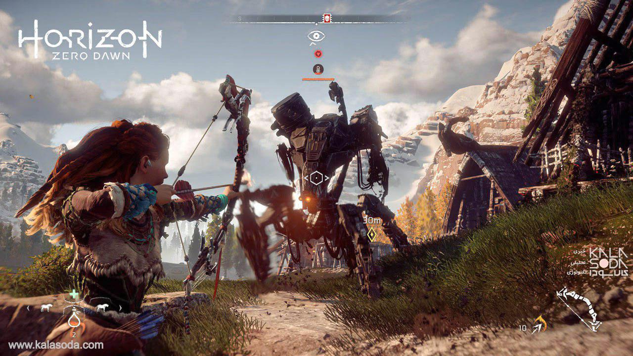 تریلر رسمی بسته الحاقی Frozen Wilds برای بازی Horizon Zero Dawn