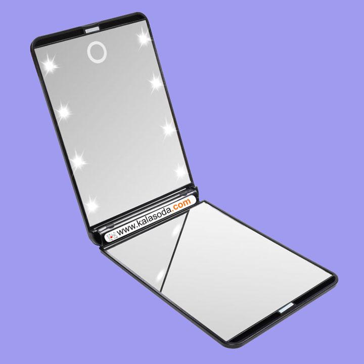 آینه LED دار قابل حمل|کالاسودا