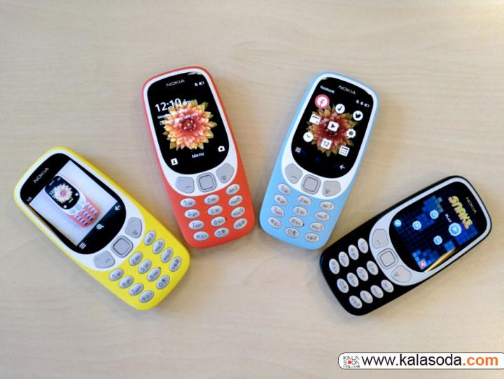 نوکیا 3310 برای پیش فروش اماده شد|کالاسودا