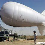 بالون مخابراتی ویژه زائرین اربعین به هوا رفت