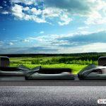 با ایده خلاقانه شرکت hyperloop با سرعت نور سفر کنید
