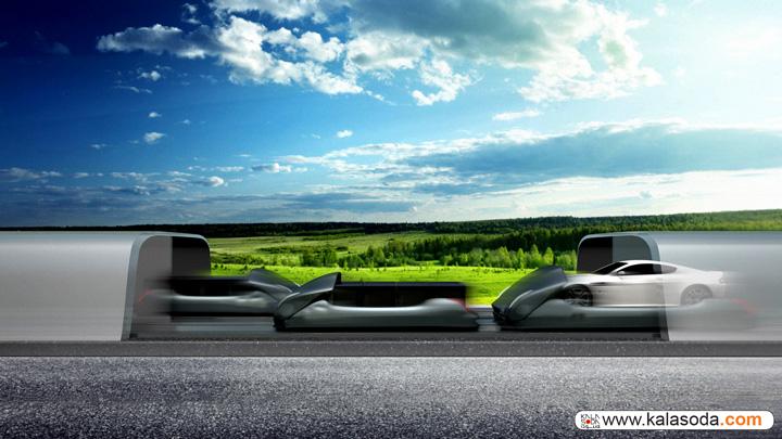با ایده خلاقانه شرکت hyperloop با سرعت نور سفر کنید|کالاسودا