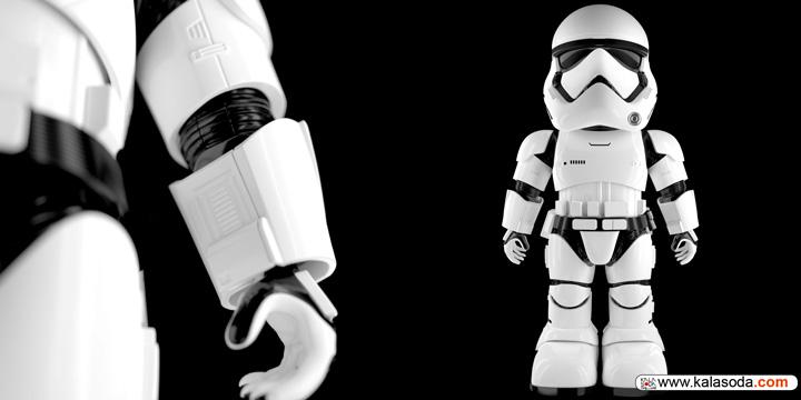 جنگ ستارگان با Stormtrooper Robot به خانه مخاطبان آمد|کالاسودا