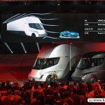 لوکس ترین کامیون الکترونیک سال در رویداد شب گذشته تسلا رونمایی شد