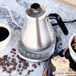 کتری هوشمند Gooseneck ؛ هدیه ای ویژه برای قهوه و چای خورهای حرفه ای
