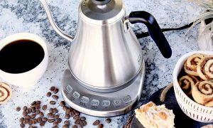 کتری هوشمند Gooseneck ؛ هدیه ای ویژه برای قهوه و چای خورهای حرفه ای|کالاسودا