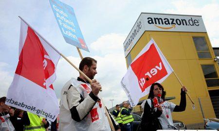 کارمندان آمازون در ایتالیا و آلمان اعتصاب کردند|کالاسودا