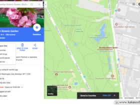 به اشتراک گذاری لیست موردعلاقه ها در نقشه گوگل|کالاسودا