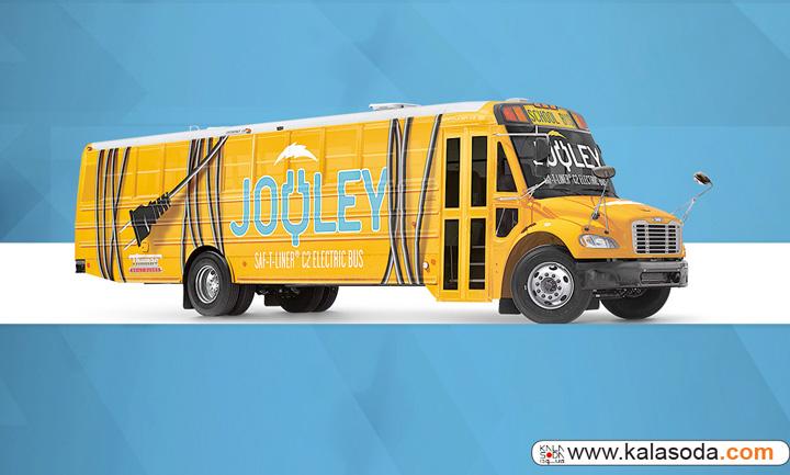اتوبوسهای مدرسه تا سال 2019 در آمریکا برقی میشوند|کالاسودا