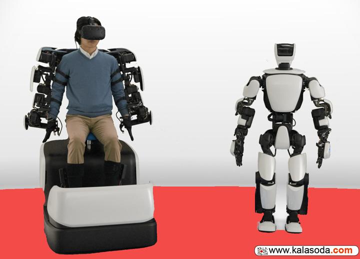 روبات تویوتا حرکات بدن را تقلید میکند|کالاسودا