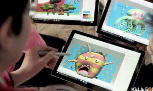 تبلیغات جدید مایکروسافت با کمک کاراکترهای انیمیشن زندگی هیولا|کالاسودا