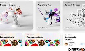آشنایی با بهترین اپلیکیشن های سال 2017 شرکت اپل