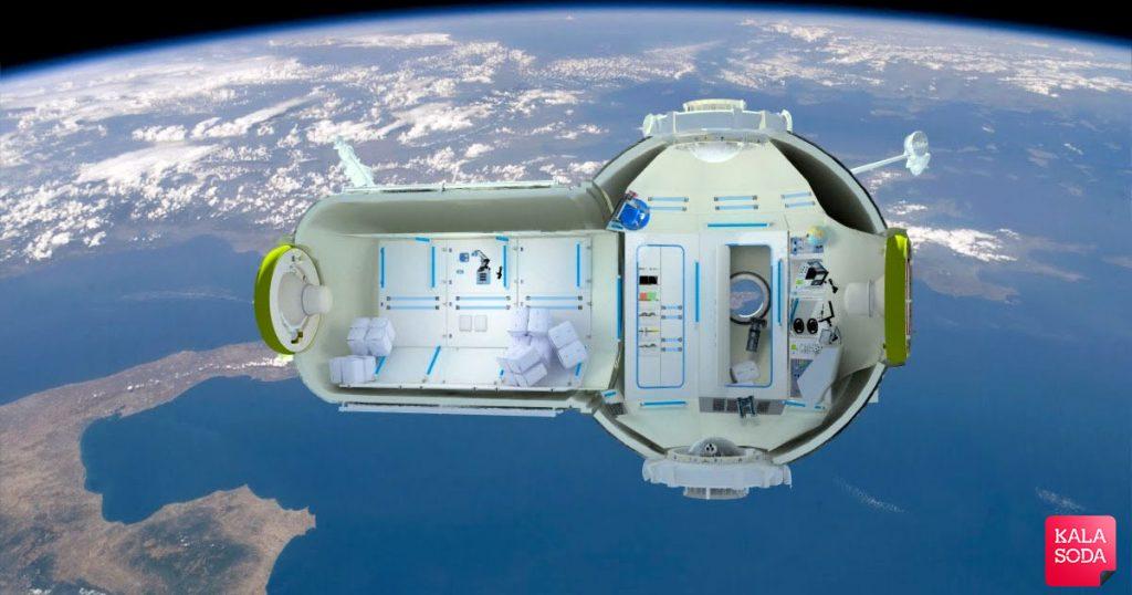 روس ها برای هتل سازی به فضا سفر کردند|کالاسودا