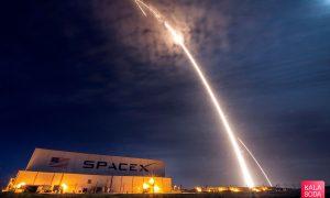 موشک Falcon 9 از سوی SpaceX به فضا پرتاب شد|کالاسودا