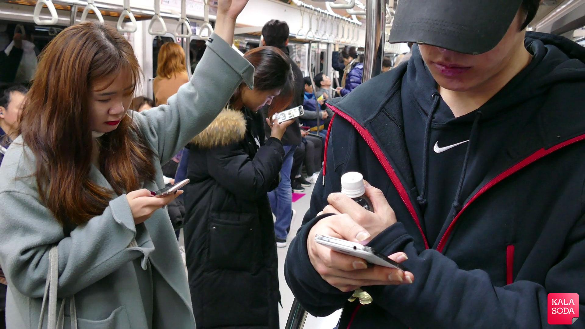 اینترنت پرسرعت در اختیار مسافران قطار در کره جنوبی|کالاسودا