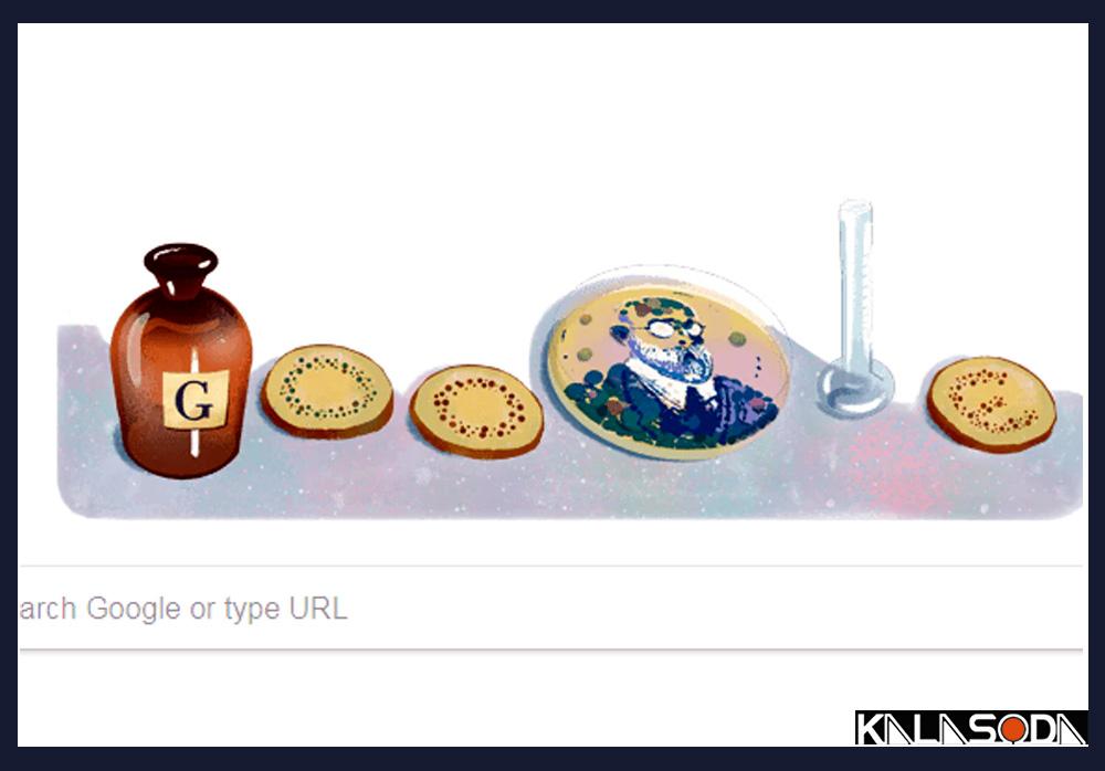 گوگل-به-احترام-زادروز-رابرت-کخ-تغییر-قیافه-داد|کالاسودا