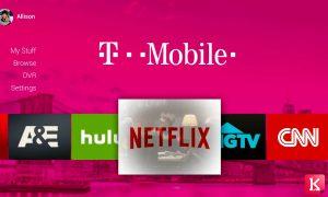 خدمات تلویزیونی تی موبایل در سال 2018 کالاسودا