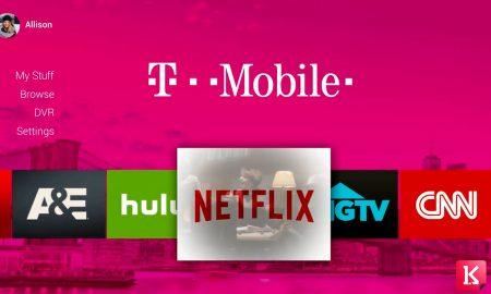 خدمات تلویزیونی تی موبایل در سال 2018|کالاسودا