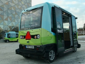 پای اتوبوس های خودران هوشمند به سوئد نیز باز شد|کالاسودا