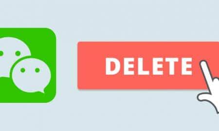 آموزش حذف اکانت پیام رسان وی چت