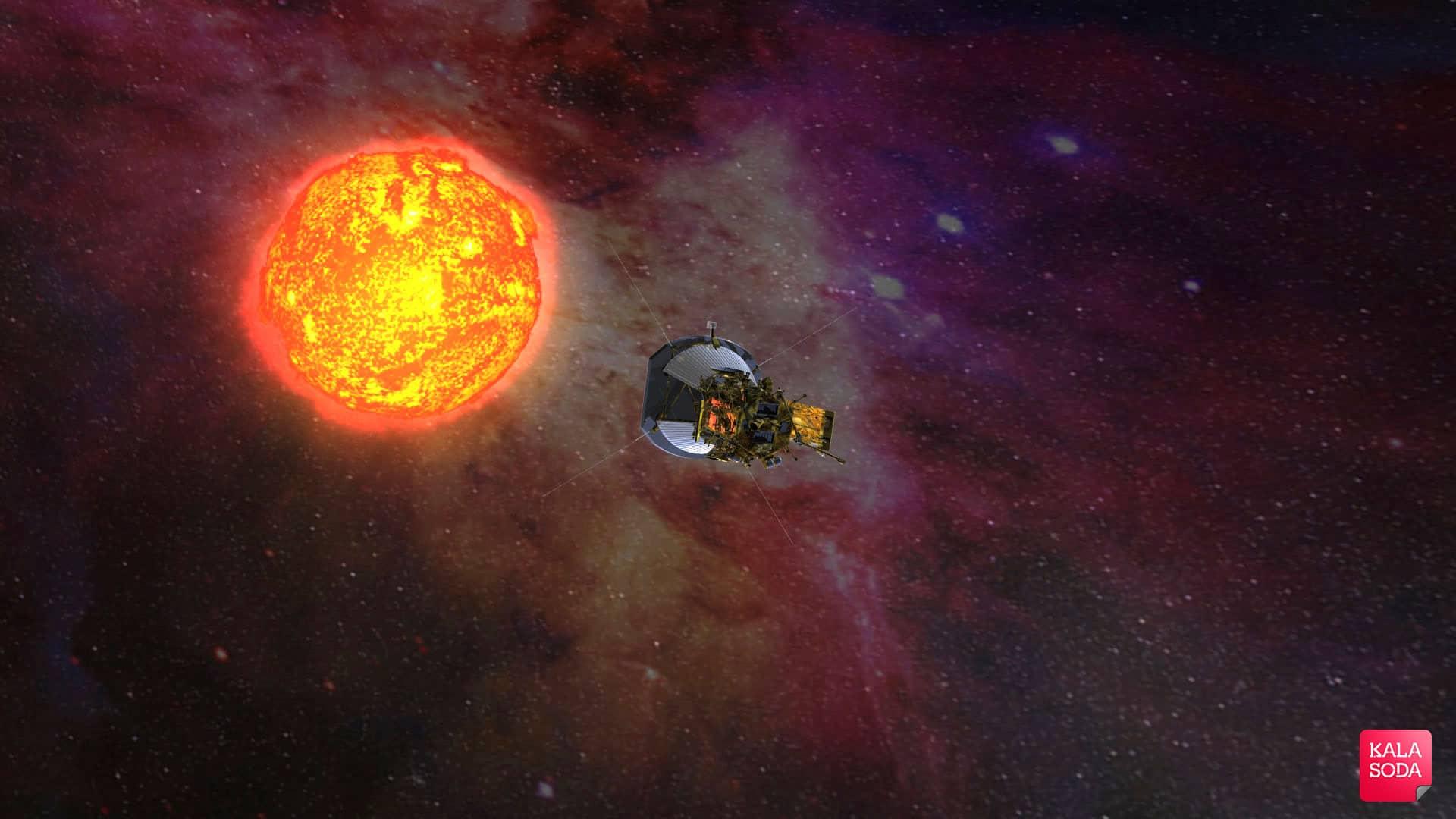 جشن تولد 60 سالگی ناسا در خورشید|کالاسودا