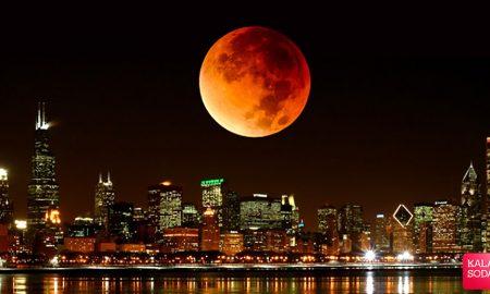 امشب پدیده ماه گرفتگی اتفاق می افتد|کالاسودا