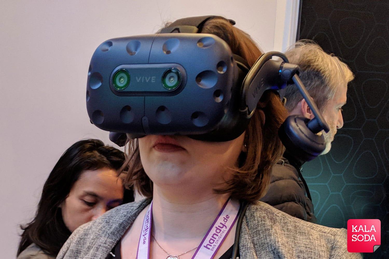 هدست جدید HTC برای طرفداران واقعیت مجازی|کالاسودا