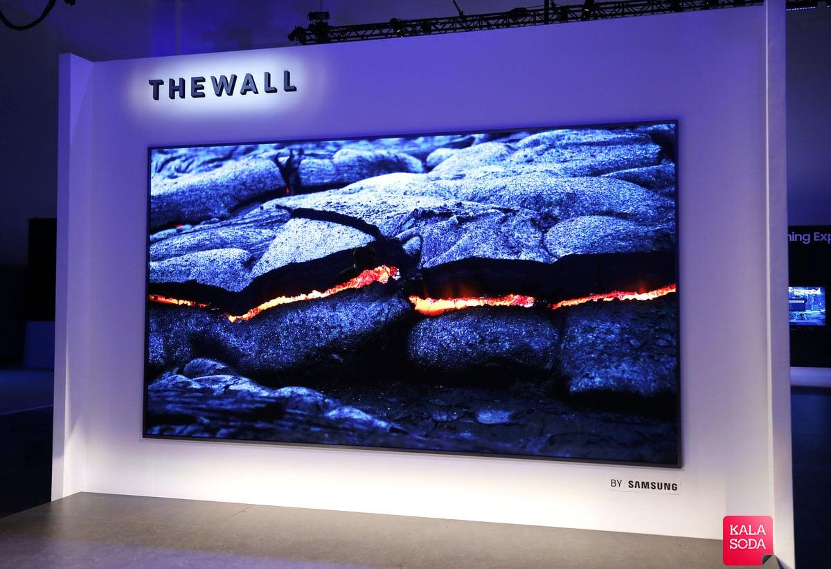 دیوار 146 اینچی سامسونگ!|کالاسودا