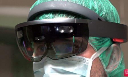 جراحی تخصصی با کمک هدست واقعیت مجازی HoloLens|کالاسودا