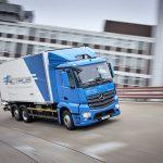 مرسدس بنز کامیون برقی طراحی میکند