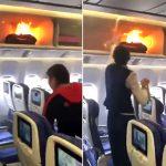 انفجار پاور بانک هواپیما را زمین گیر کرد