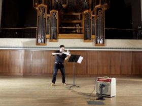 هنر موسیقی و مجسمه سازی در قالب یک ویولن سه بعدی کالاسودا