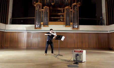 هنر موسیقی و مجسمه سازی در قالب یک ویولن سه بعدی|کالاسودا