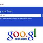 سرویس کوتاه سازی لینک گوگل غیرفعال میشود