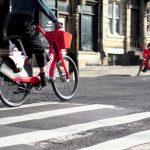 اوبر مالک دوچرخه های قرمز رنگ جامپ شد
