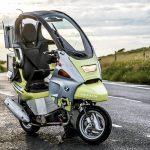 آشنایی با موتورسیکلت فوق پیشرفته بی ام و با فناوری خودران