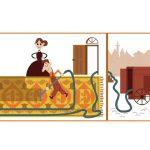وقتی مخترع جاروبرقی روی لوگوی گوگل می نشیند!